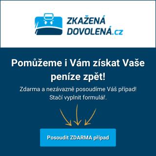 Zkažená dovolená.cz | Jak reklamovat dovolenou?